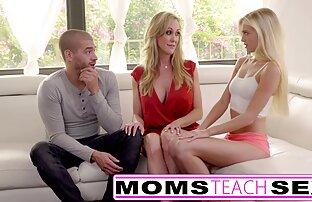 Mame podučavaju seks - Uhvati kćer majke velike sise