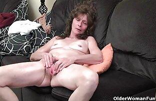 Starica dlakava lizanje vagine