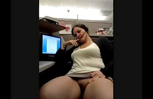 Bucmast sperma na telefonu na poslu