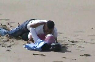 Arapska hidžab djevojka uhvaćena u seksu na plaži sa svojim Bf