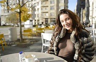 Julie Thighs Visoke čizme Traperice pokazuju sise javna gola