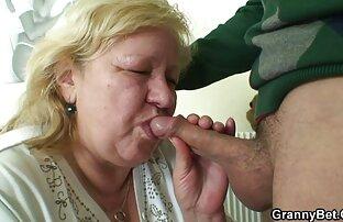 Velika baka okusi vaš penis onako pseće