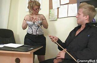 Zrela šefica ureda teško je zajebava u seksi slici Bf Full HD