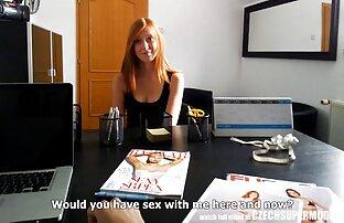 Vruća češka manekenka mlada tinejdžerska crvenokosa koja čini sve za slavu