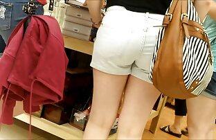 Zbijeno tinejdžersko dupe u kratkim hlačicama skrivena kamera 230