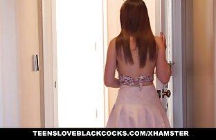 Teen seksi kraljica uzima veliki crni kurac